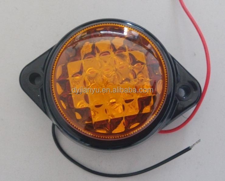 amber led side marker lamptruck led marker lightamber 12v led lights