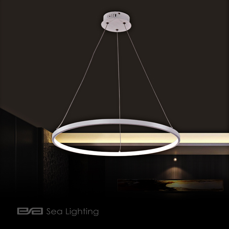 hot lighting home white led light acrylic pendant item hanging lustre from rectangular suspension lights decoration in