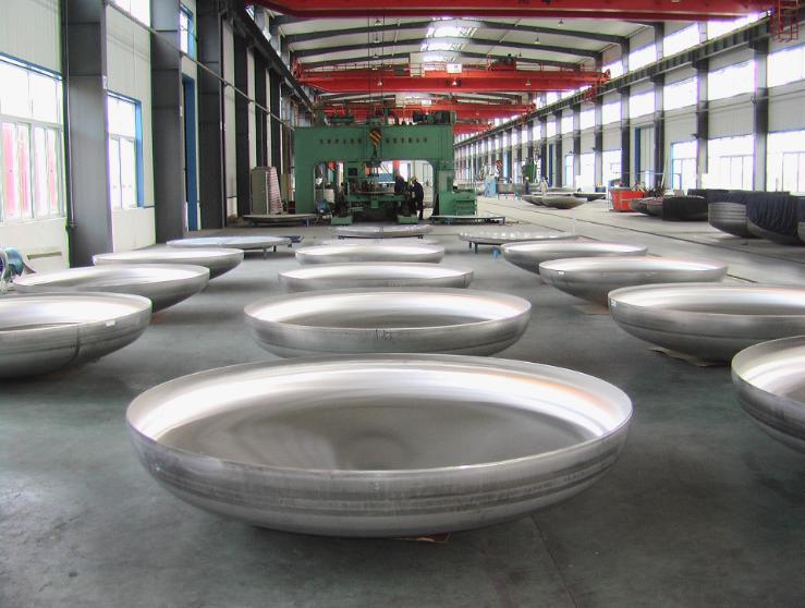 steel elliptical head