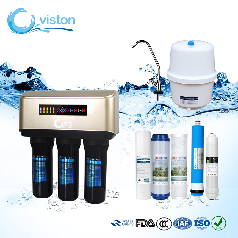 <strong>Water</strong> RO <strong>System</strong>, <strong>Water</strong> Purifiers Reverse Osmosis 50 75 100 GPD <strong>Water</strong> Filter With LED Displayer