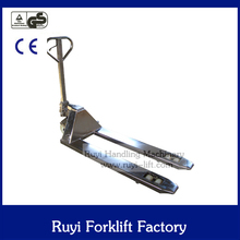 cheap price of 2000kg stainless steel hand pallet truck