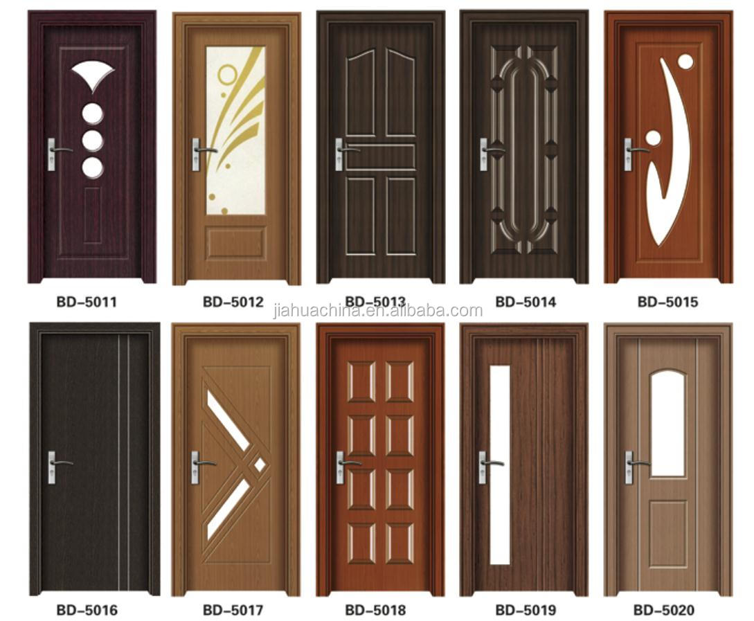 New trends anti theft teak wood main door design buy for Main door panel design