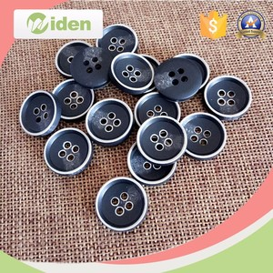 Wholesale Customized 4 Holes Resin Shirt Button,Plastic button for overcoat