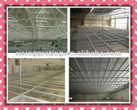 black carbon steel grid for hung ceiling HDG or painted