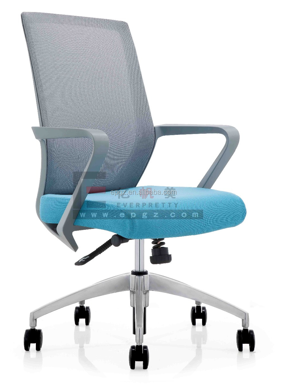 Adjustable Mesh Armrest Chair For Office