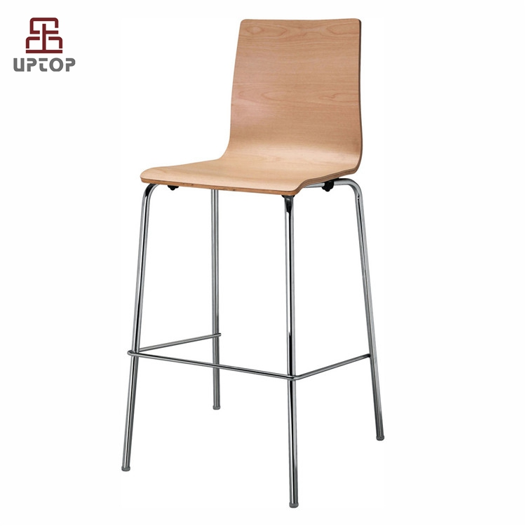 Sp Bbc212 Modern Bentwood High Chairs For Breakfast Bar