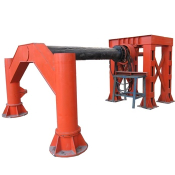 Drain Used Concrete Pipe Forming Machine For Sale Cage Welding Machine Concrete Pipe