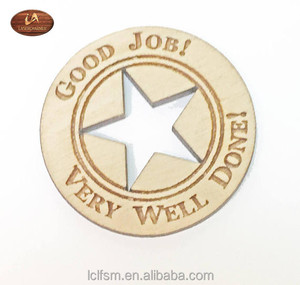 Custom Laser Cut Engraved Cheap Pocket Size Wooden Game Tokens Coins Small Gifts Wood Token