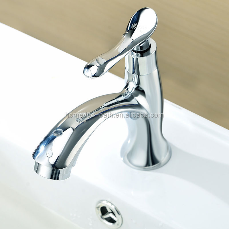 Zinc Alloy Chrome Cold Water Basin Wash Faucet