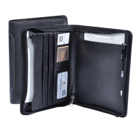 Hot selling 2017 A4 PU leather padfolio portfolio