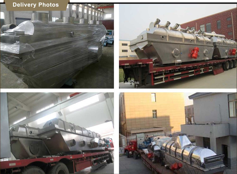 ZLG Model Industrial Vibrating Fluidized Bed Salt Dryer