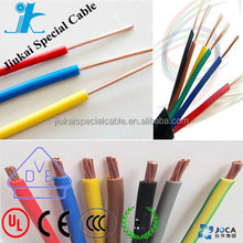 UL certificated flexible wire 0.5 mm UL1015 earth wire colour wire cable electrical installation