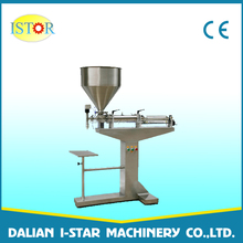 Pneumatic filling tomato sauce processing machine