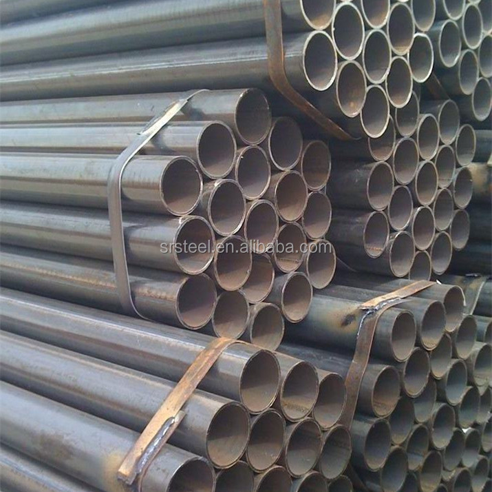 All size hs code carbon steel pipe ss400 erw pipes with low price