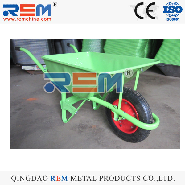 SIMPLE FARM TOOLS HIGH QUALITY CONSTRUCTION METAL WHEEL BARROW WB2201