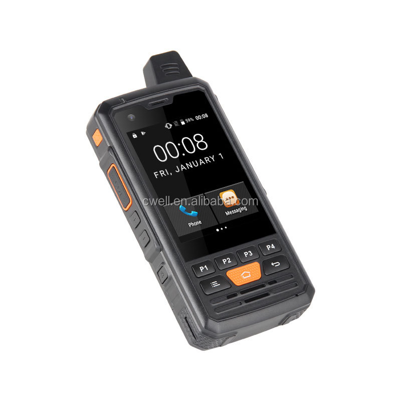 UNIWA F50 4000mAh Big Battery 5MP Back Camera Android 6.0 Rugged Smart Phone With Belt Clip