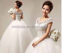 Z53138A 2014 NEWEST WEDDING BRIDE LONG DRESSES
