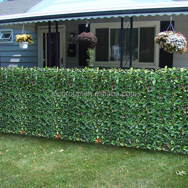 Photinia artificial planta de jard n cercas decoracion - Cercas de jardin ...