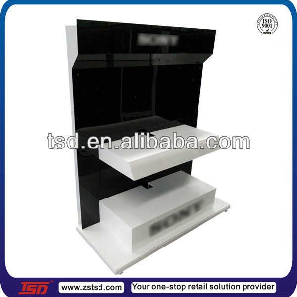 TSD-W798 Custom electronic product display stand/player display shelf/home theater display rack