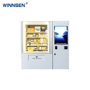 Top Quality OEM/ODM Red Wine Salad Jar Vending Machine with Touch Screen