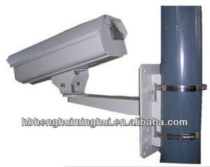 Pole mount barcket/ CCTV outdoor camera bracket