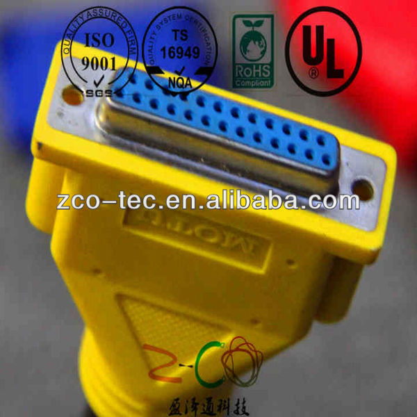 UL1007 24AWG with USB, DC plug custom cable cord assembly