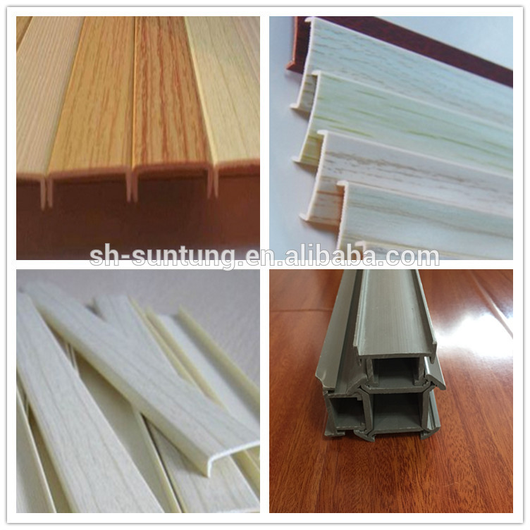 High Gloss Wood Grain Pvc Edge Banding For Particle Board Trim/for Plywood  Furniture - Buy Pvc Edge Banding,U Shape Edge Banding Trim Rubber,High