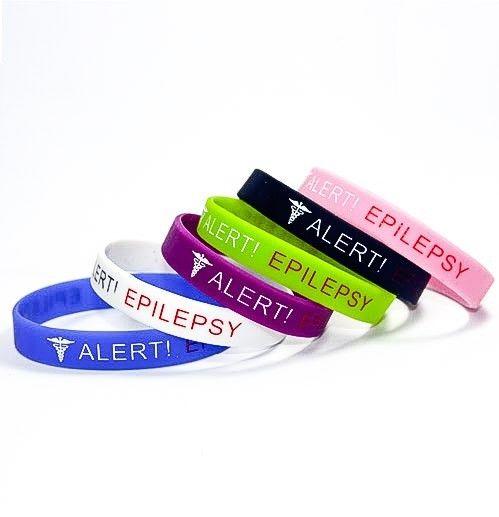 Seizure Braceletscurb Link Disorder Medical Alert Id Bracelets For Women