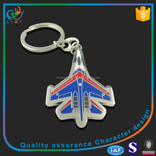 metal Material and custom aviation keychain keyring Type custom aviation keychain keyring