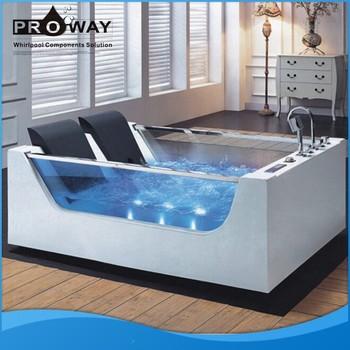 Proway acrylic material hydromassage whirlpool small for European bathtub