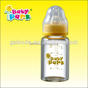 BAODA good quality glass milk bottle and baby bottle manufactory