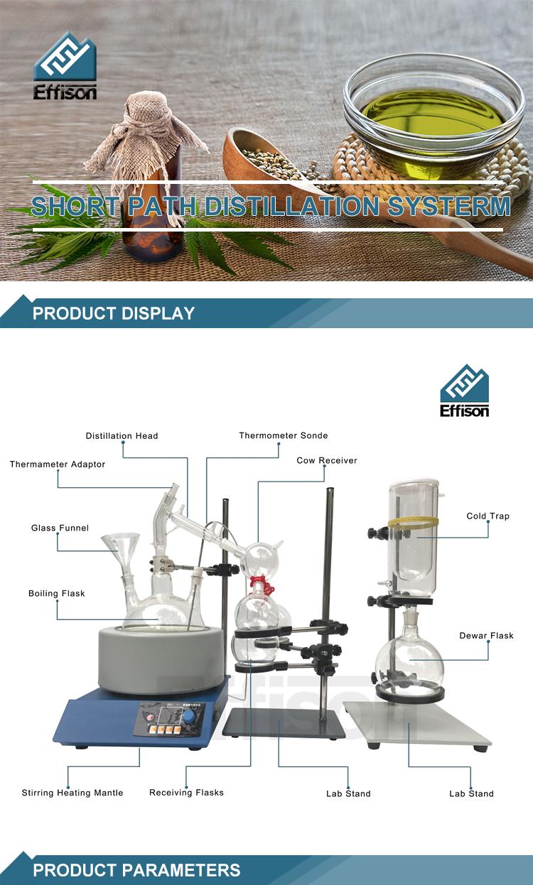 ציוד מעבדה 20L Distiller שמן אתרי עשב Rotovap