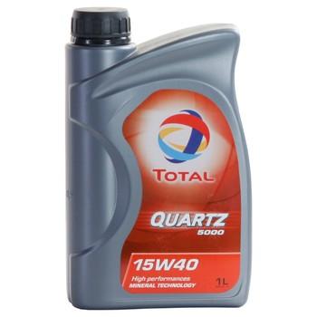 Total quartz 5000 15w40 1 liter pack box 18x1l buy for Total quartz motor oil