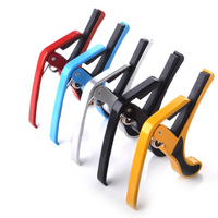 Hot selling Colorful custom guitar capo metal