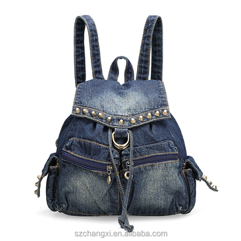 Girls Denim Cute Backpack For Teenage - Buy Cute Backpacks For College  Girls,Colorful Backpacks For Teenage Girls,Fashionable Backpacks For Girls