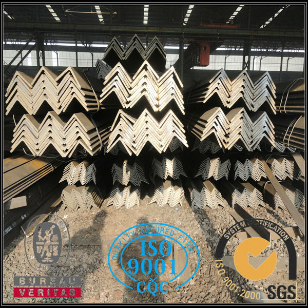 Hot rolled JIS S275J0+N equal angle steel . mild steel angle iron . iron angle for building structure application