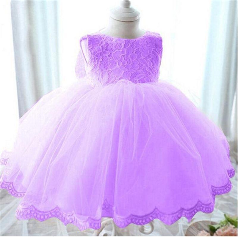 Encaje niñas princesa cumpleaños fiesta de la boda Vestido para ...