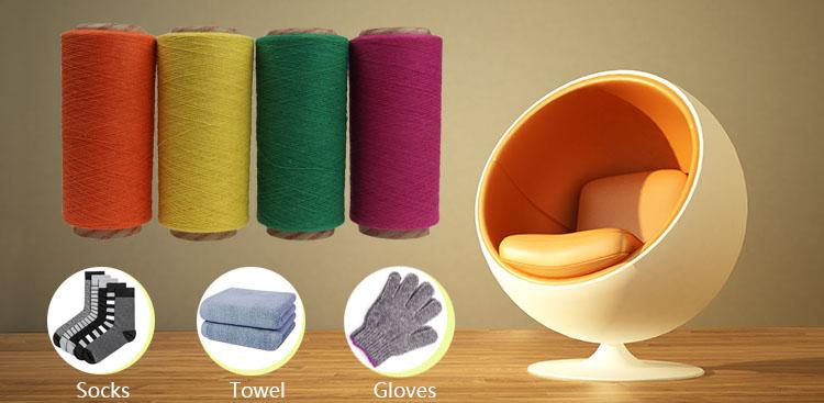 Kết Thúc mở Sợi Phong Cách và 800 Twist Pima Cotton Sợi Giá