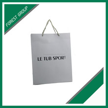 SHOPPING DESIGN SPECIALIZED GLOSSY LAMINATION CUSTOM LOGO PAPER BAGS EUROPE