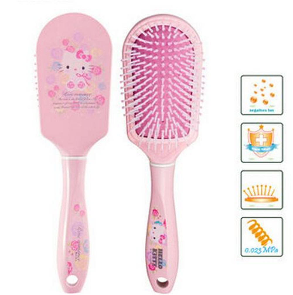 6fd8de5bc Buy Girl Hair Brush Combs Hello Kitty Tangle Hairdresser Women Brushes  Massage Comb Flat Styling Tamer Tool New Year Gifts E492 in Cheap Price on  Alibaba. ...