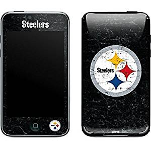 NFL Pittsburgh Steelers iPod Touch (2nd & 3rd Gen) Skin - Pittsburgh Steelers Distressed Vinyl Decal Skin For Your iPod Touch (2nd & 3rd Gen)