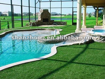 Hot sale swimming poor used artificial turf buy artificial grass for swimming pool artificial for Artificial swimming pool for sale