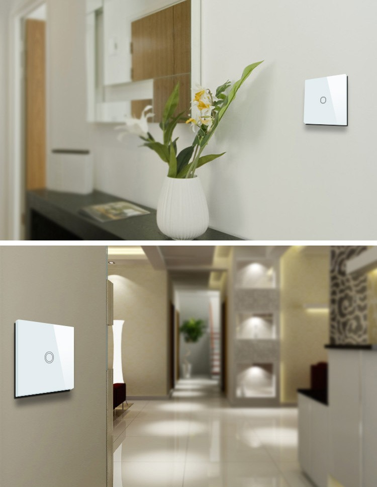 Phone Control Zigbee Smart Wall Switch Light Touch Switches Iot ...