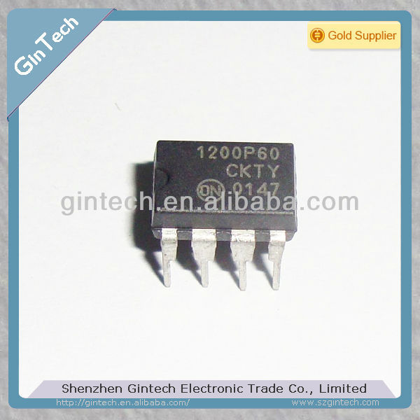 (New & Original)1200P60 PWM CurrentMode Controller for Low Power Universal Off Line Supplies