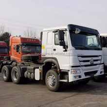 SINOTRUK HOWO 420hp 6x4 50t-60t EURO II tractor truck for sale