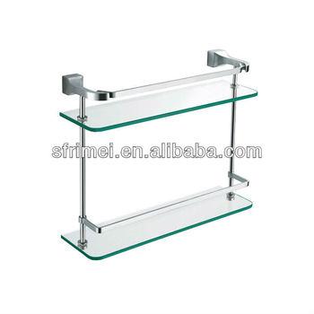 Badkamer Accessoires Dubbel Glas Platform Hete Verkoop Badkamer ...