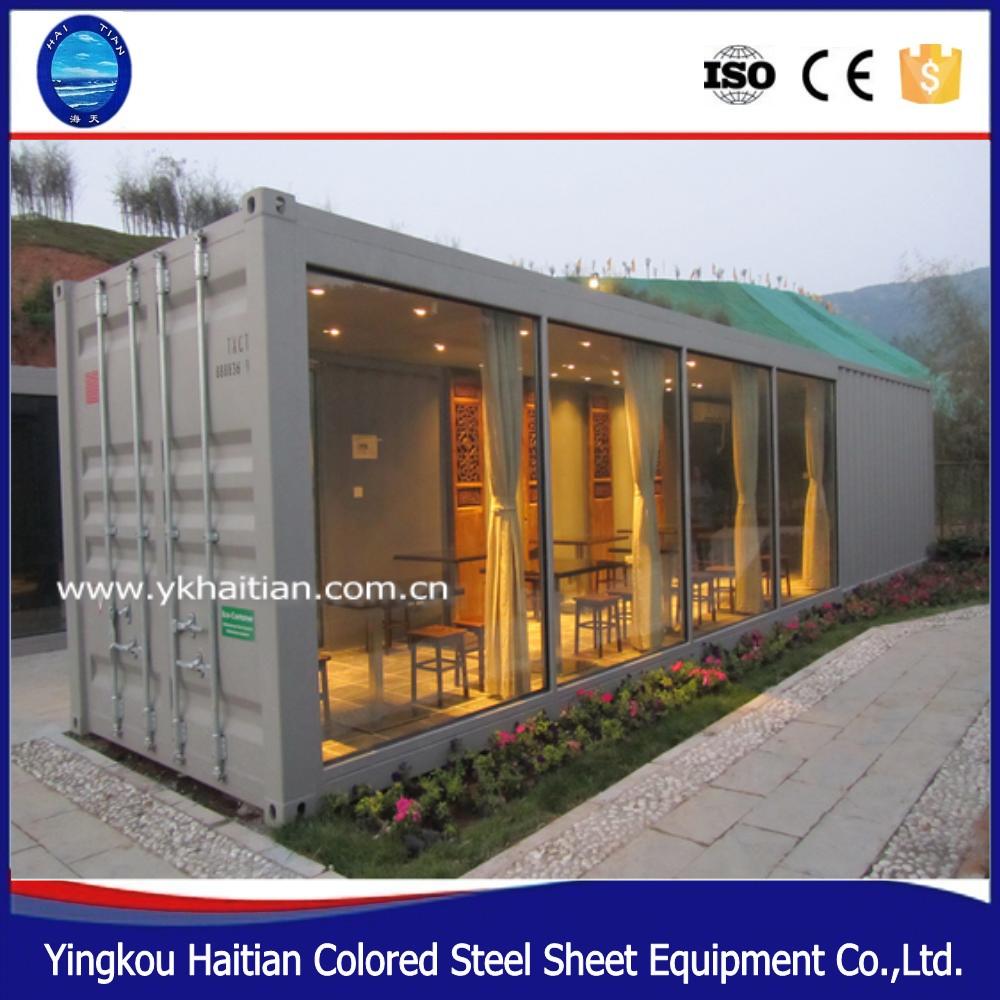 Bewegen in een sterke stalen frame container woningen container huis levende mobiele huis - Huis in containers ...