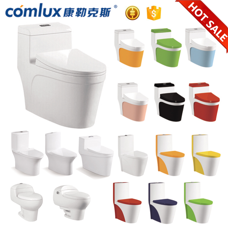 Hot sale bowls colored floor mounted european water closet new model sanitary ware toilet