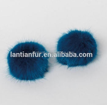 46296a85cfe Factiry Direct Fashion Faux fur Ball   Fake Fur Pompoms For Keyring    Beanie Hat