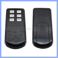 DC 3.0V PET Rubber Controller For Mosquito Repellent 6 Keys Mini Fan Infrared Remote Control